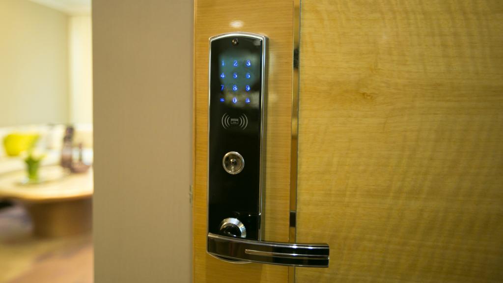 smart lock with keypad