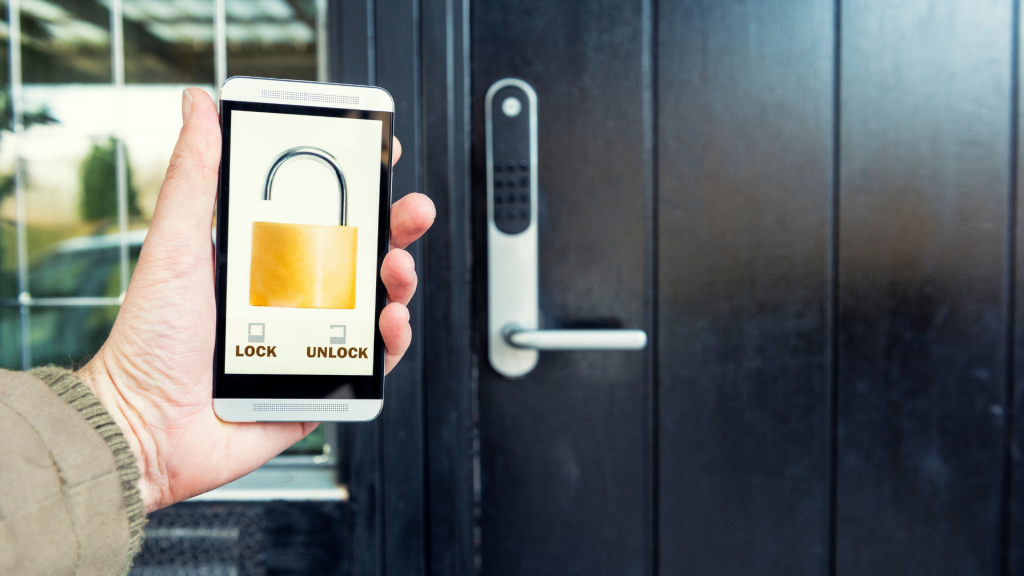 phone app unlocking smart lock